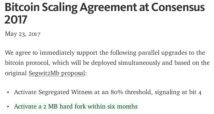 New York Agreement Bitcoin Wiki