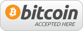 We accept Bitcoins!