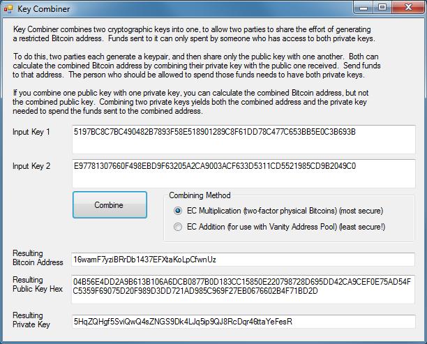 Bitcoin Address Utility - Bitcoin Wiki