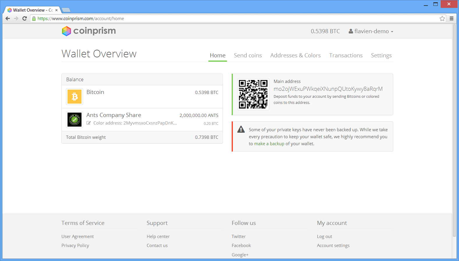 Coinprism Screenshot 1.png
