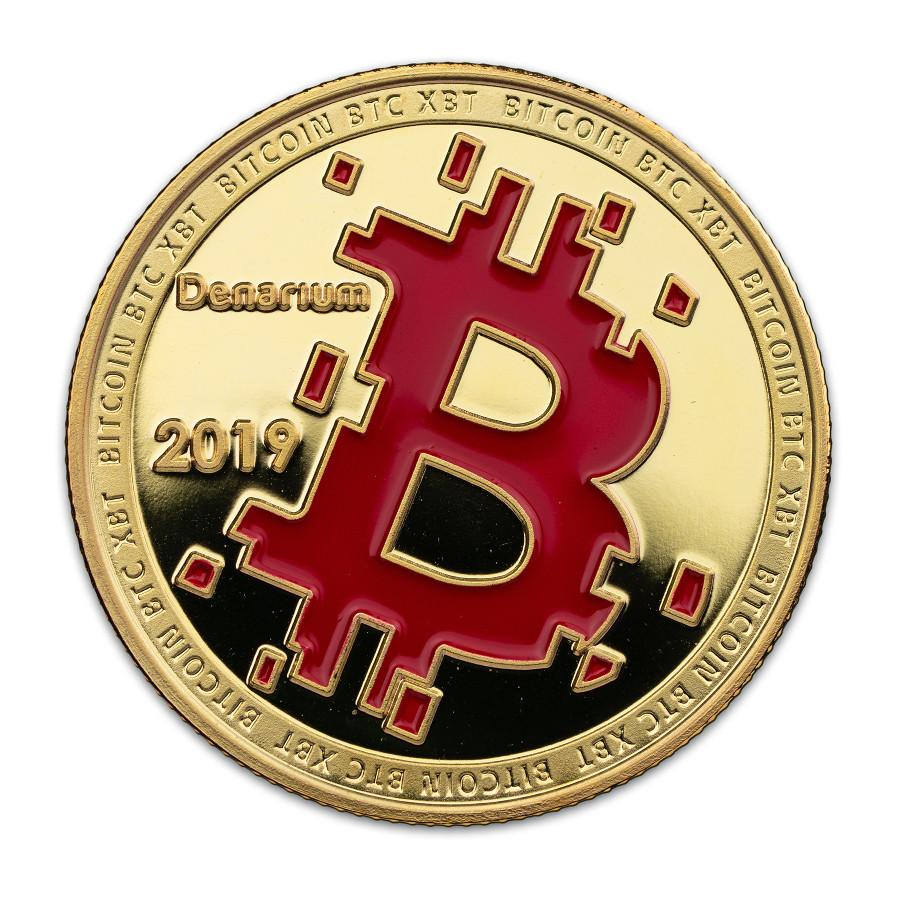 Denarium physical bitcoins - Bitcoin Wiki