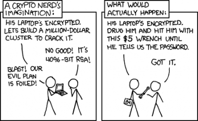 xkcd comic on the 5 dollar wrench attack.